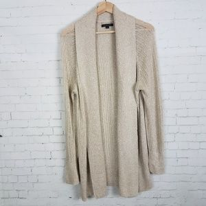 Rachel Zoe Womens Cardigan Sweater Size XL Beige
